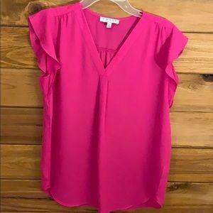 Pink Chaus blouse